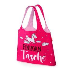 """Faltbare Einkaufstasche """"Einhorntasche"""""""