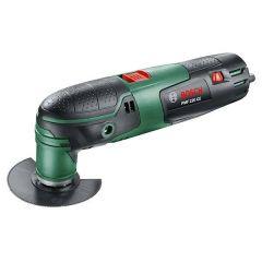 Bosch Multifunktions-Werkzeug PMF Universal (grün/schwarz, Kunststoffkoffer)