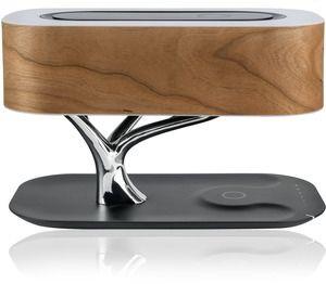 4smarts Induktiv-Ladestation Smart-Bonsai-QI B7 Bluetooth, schwarz